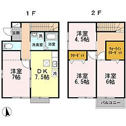 [一戸建] 愛知県名古屋市港区名港一丁目 の賃貸【/】の間取り