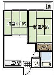 Kawaida Corpo[202号室]の間取り