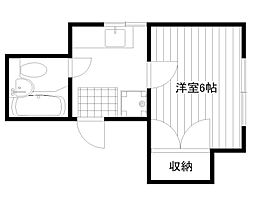 シオン寓家[202号室]の間取り