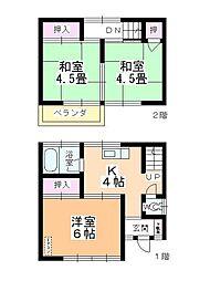 [一戸建] 埼玉県川越市今成2丁目 の賃貸【/】の間取り