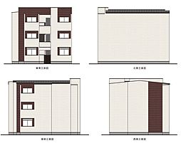 (仮)杭瀬北新町3丁目[3階]の外観