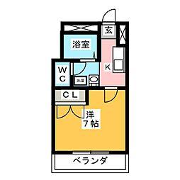 サンフルト[1階]の間取り