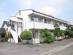 広島県東広島市西条町助実の賃貸アパートの外観
