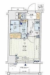 レオンコンフォート西新橋[9階]の間取り