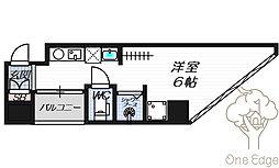 公高貴王ビル(女性限定レディースマンション)[7階]の間取り
