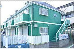 埼玉県所沢市下安松の賃貸アパートの外観