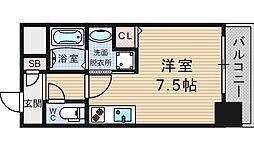 VIBURNUM日本橋[503号室]の間取り
