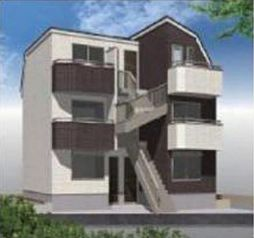 (仮称)成増新築アパート[1階]の外観
