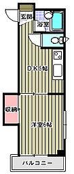 パークサイドU[4階]の間取り