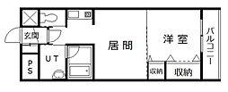 サテラ永山[7階]の間取り
