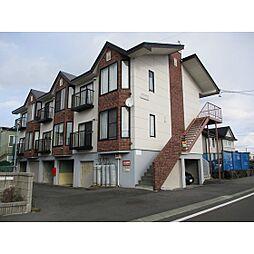 北海道苫小牧市川沿町3丁目の賃貸アパートの外観
