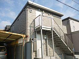 千葉県流山市流山4丁目の賃貸アパートの外観