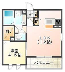 田町1丁目D-room[3階]の間取り