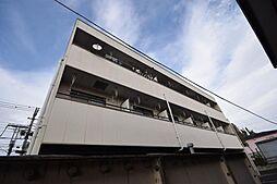 栃木県宇都宮市江曽島4丁目の賃貸アパートの外観