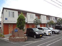 愛媛県松山市南吉田町の賃貸アパートの外観