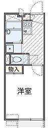東京都葛飾区小菅3丁目の賃貸アパートの間取り