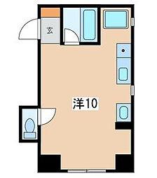 ルックハイツ江ノ島2番館[2階]の間取り