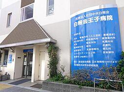 東京都北区王子2の賃貸マンションの外観