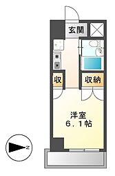 岩井橋ロイヤルハイツ[12階]の間取り