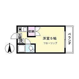 ニュー小室ビル[403号室]の間取り