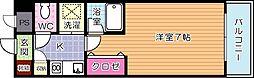 ダイナコート小倉城野[306号室]の間取り