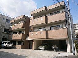 大阪府茨木市松ケ本町の賃貸マンションの外観