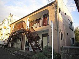 神奈川県横浜市戸塚区汲沢3丁目の賃貸アパートの外観