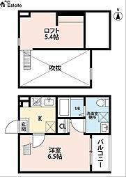 partenza志賀本通(パルテンツァシガホンドオリ)[1階]の間取り