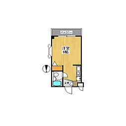 アパートゆう[0301号室]の間取り