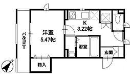 フロラ・トシマ[3階]の間取り