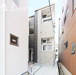 愛知県名古屋市緑区鳴海町字下中の賃貸アパートの外観