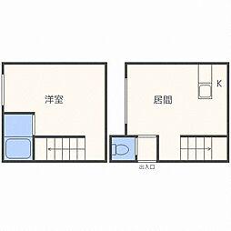 AMS清田2-1A棟[2階]の間取り