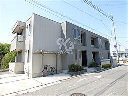 兵庫県三木市志染町西自由が丘2丁目の賃貸アパートの外観