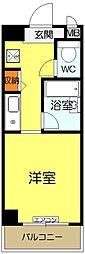 リブハウスハラ[802号室]の間取り