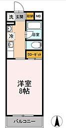 レガート湘南台[2階]の間取り