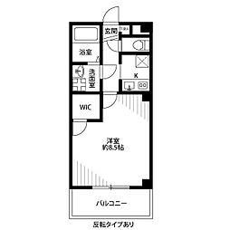Casa Domani[306号室]の間取り
