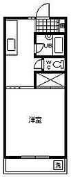 コーポアーバンスペース[3階]の間取り