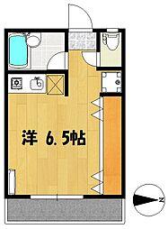 カーサ ロッサ[2階]の間取り
