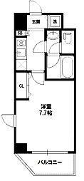 東明マンション新東[6階]の間取り