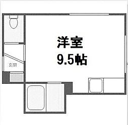 北海道札幌市手稲区曙四条3丁目の賃貸アパートの間取り