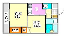 メゾン秀榮前原[2階]の間取り