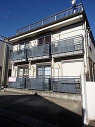 東京都日野市日野本町2丁目の賃貸アパートの外観