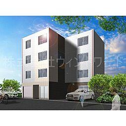 北海道札幌市西区二十四軒四条3丁目の賃貸マンションの外観