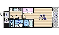 サムティ中之島WEST[10階]の間取り