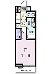 ラフィーネIII[104号室]の間取り