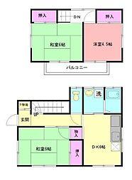 [一戸建] 神奈川県横浜市青葉区柿の木台 の賃貸【/】の間取り
