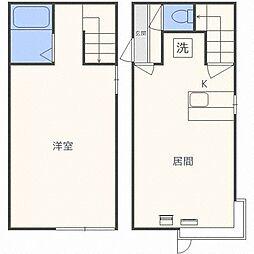 AMS262B[1階]の間取り