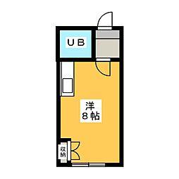 メゾン池田[1階]の間取り