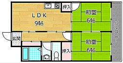 トモエマンション[2階]の間取り