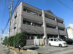 愛知県北名古屋市久地野安田の賃貸マンションの外観